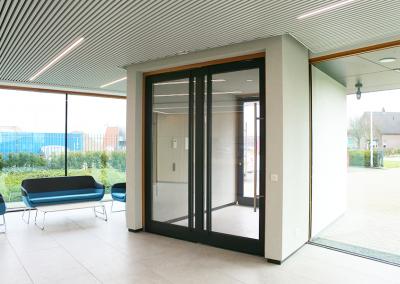 Nieuwbouw kantoorpand Leitz te Elst
